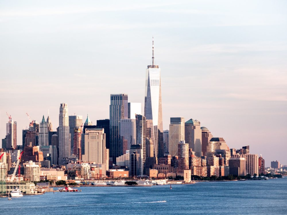 Photo of Manhattan's skyline during the day.